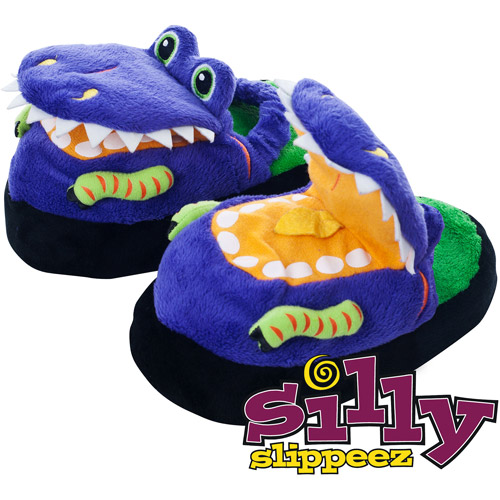 Silly Slippeez - Dizzy Dinosaur - Glow in the Dark Slipper