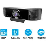 Best Mac Webcams - 1080P HD Webcam with Microphone, Webcam for Gaming Review