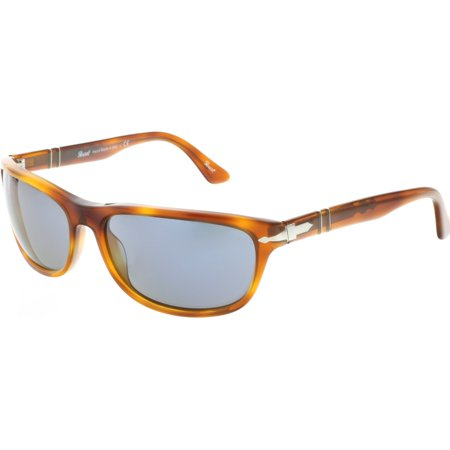 Persol Men's PO3156S-96/56-63 Brown Rectangle Sunglasses