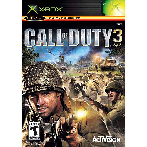 Image of call of duty 3 - xbox