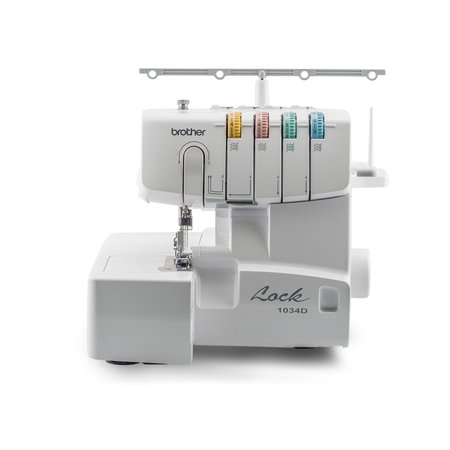 Brother 1034D 3 Or 4 Thread Serger With Easy Lay In Threading With Differential Feed