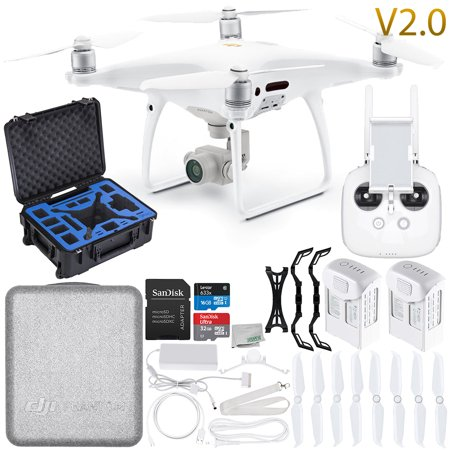 DJI Phantom 4 Pro V2.0/Version 2.0 Quadcopter Premium Essential Bundle