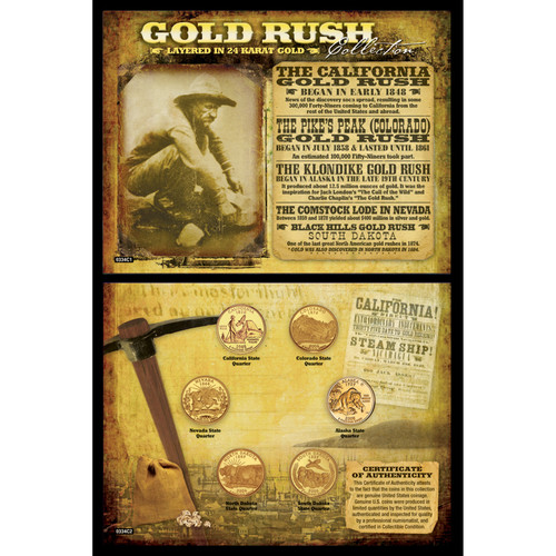 American Coin Treasures Gold Rush Memorabilia
