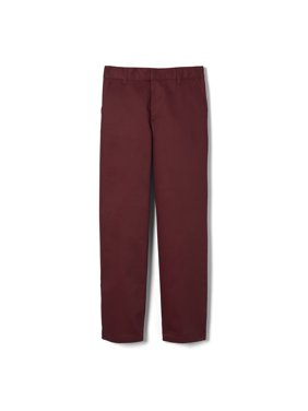 French Toast Boys School Uniform Adjustable Waist Work Wear Finish Relaxed Fit Pant (Little Boys & Big Boys)