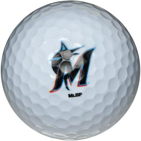 Miami Marlins Pack of 3 Golf Balls - No Size (Marlin Pack)