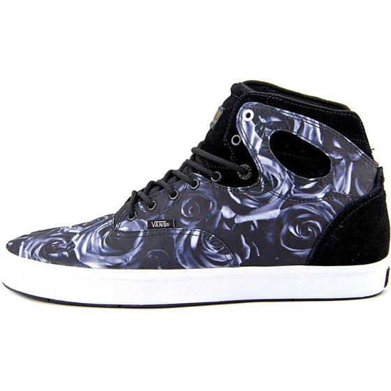 df0073d787 Vans - Vans Bushwick Men B Round Toe Canvas Black Skate Shoe - Walmart.com