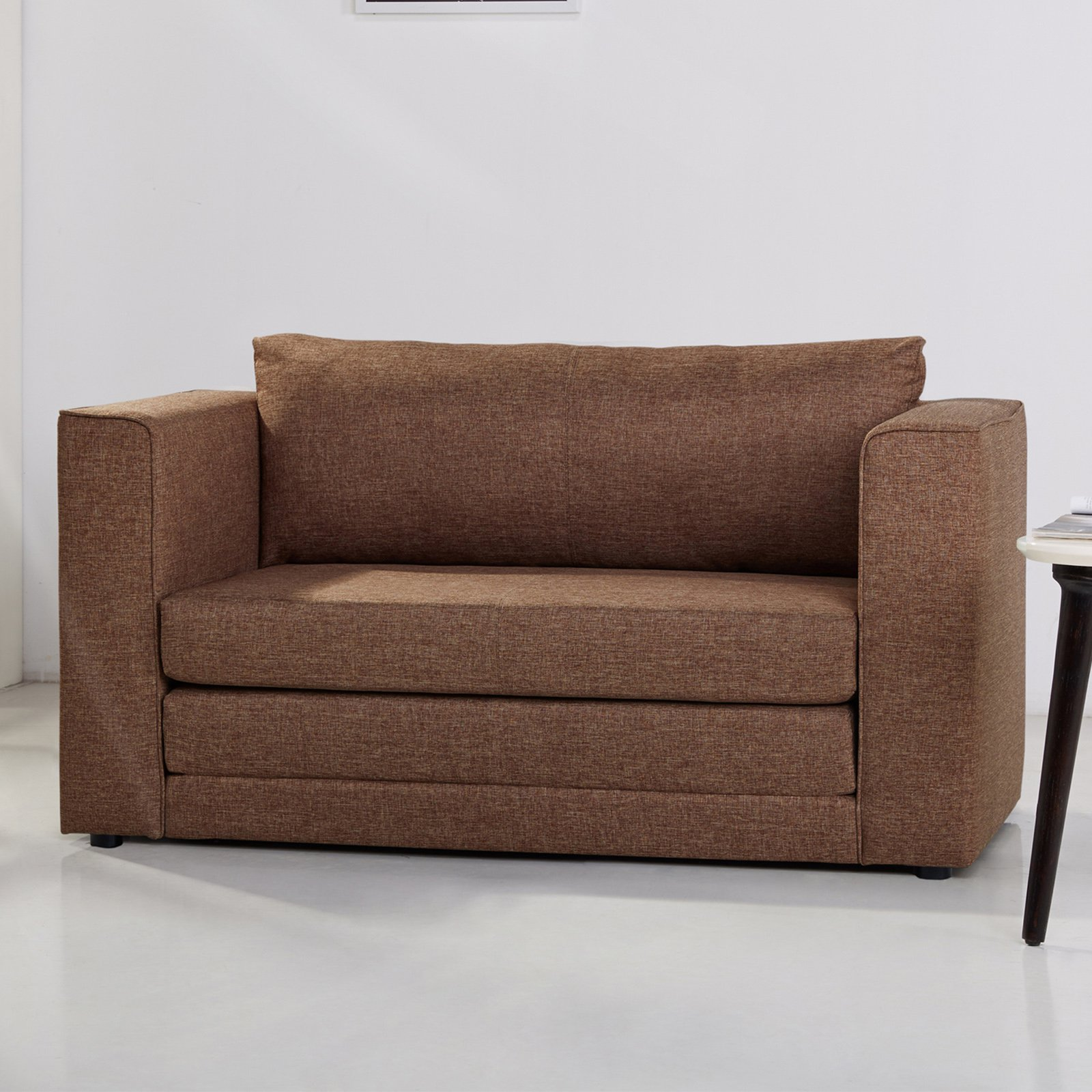 Gold Sparrow Corona Convertible Sleeper Loveseat