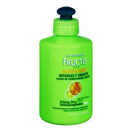 Garnier Fructis Sleek & Shine Intensely Smooth Leave-In Conditioning Cream, 10.2 Fl.
