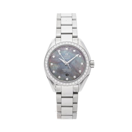 Pre-Owned Omega Seamaster Aqua Terra 150m 231.15.34.20.57.001 Watch (Majority of Time Remaining on Factory Warranty)