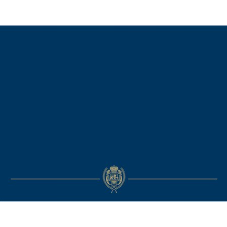 Great Papers! Navy Classic Certificate Covers, 5ct - Walmart.com