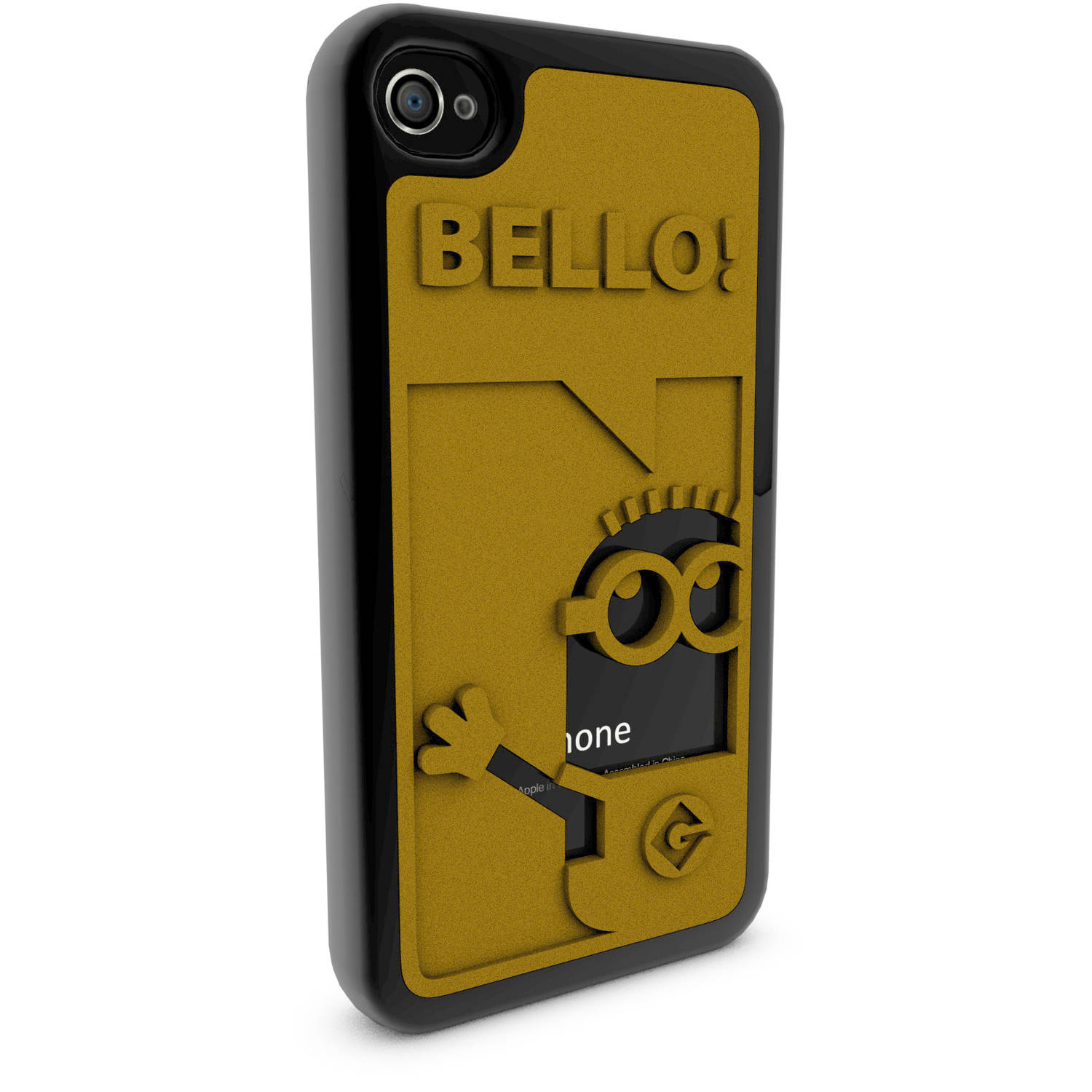 Apple iPhone 4 and 4S 3D Printed Custom Phone Case - Despicable Me - Bello Phil