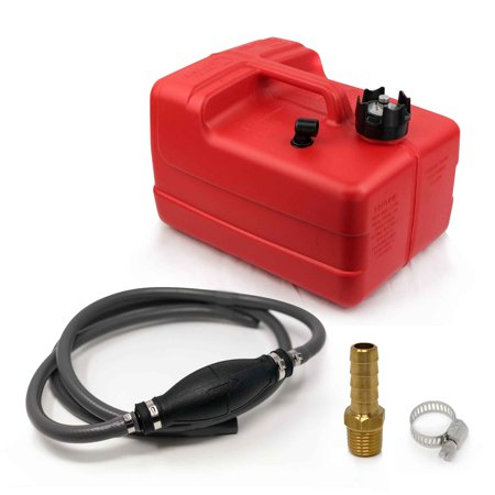 3 Gallon Fuel Tank Portable Universal Kit, 3/8