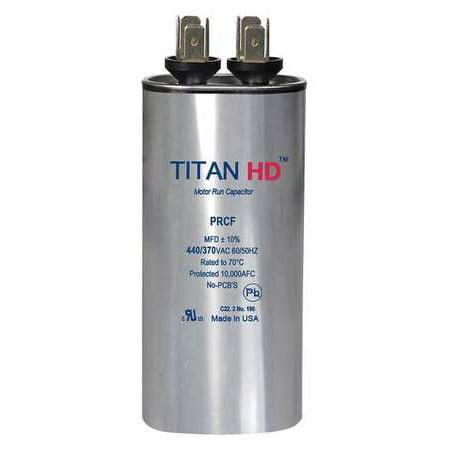 TITAN HD PRCF20A Motor Run Capacitor, 20 MFD, 440V, (Surge Capacitor)