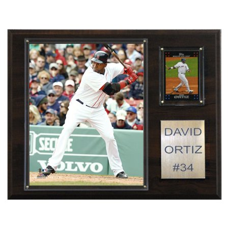 - C&I Collectables MLB 12x15 David Ortiz Boston Red Sox Player Plaque