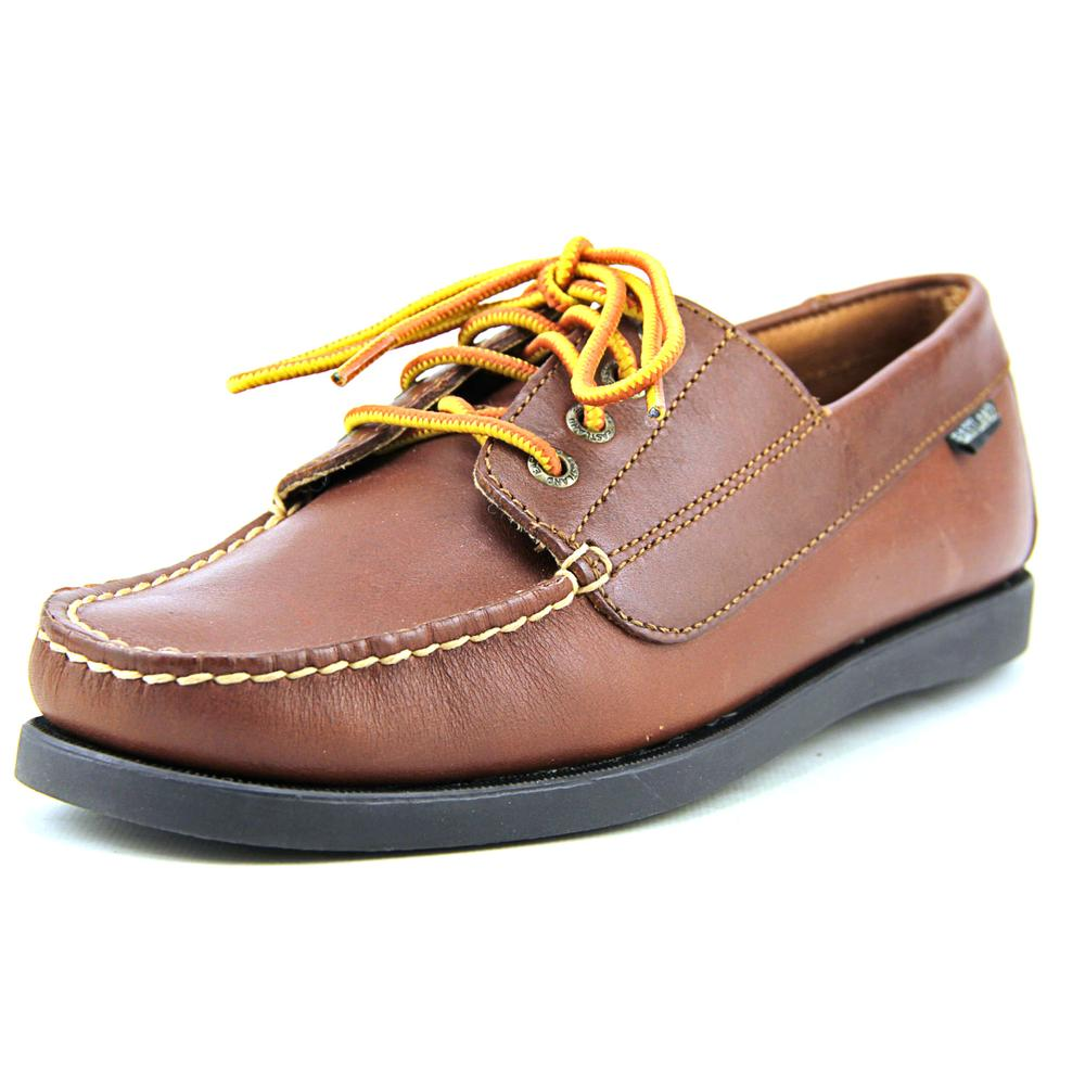 Eastland Falmouth Women Moc Toe Leather Tan Oxford by Eastland
