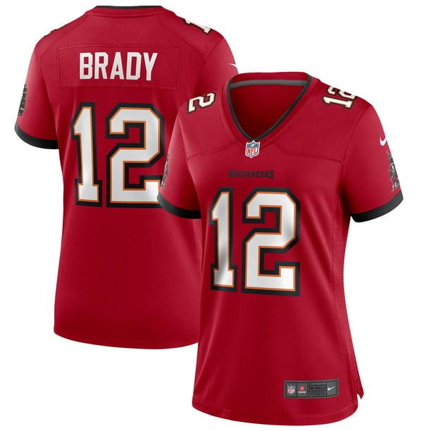 Tom Brady Tampa Bay Buccaneers Nike Women's Game Jersey - Red