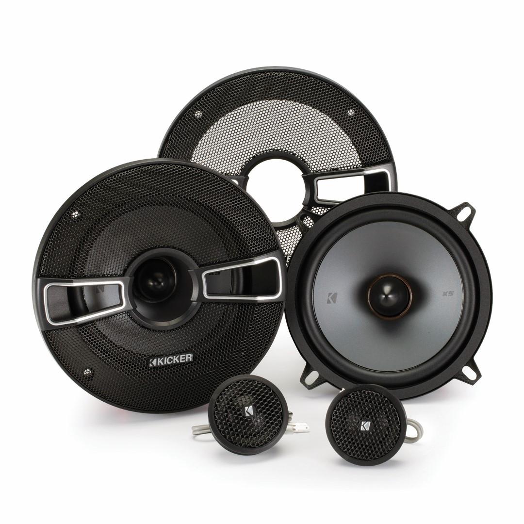 Kicker Speaker Bundle - Two pairs of Kicker 5.25 Inch KS-Series Component System 41KSS54