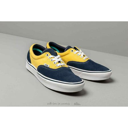 Vans Comfycush Era SuedeCanvas Dress Blue Men's Classic Skate Shoes Size 12