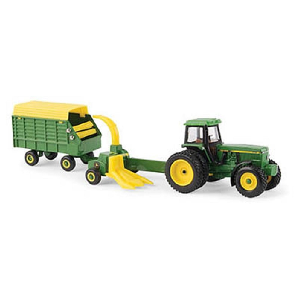 1 64 Scale 4960 Tractor with Forage Harvester & Wagon LP67313, 1 64 scale die-cast metal... by