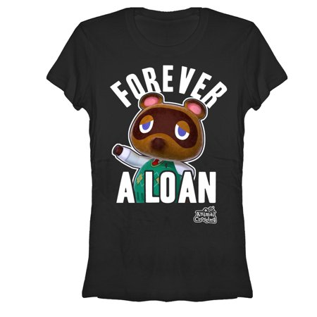 Forever Junior Tee (Nintendo Juniors' Animal Crossing Forever A Loan T-Shirt )