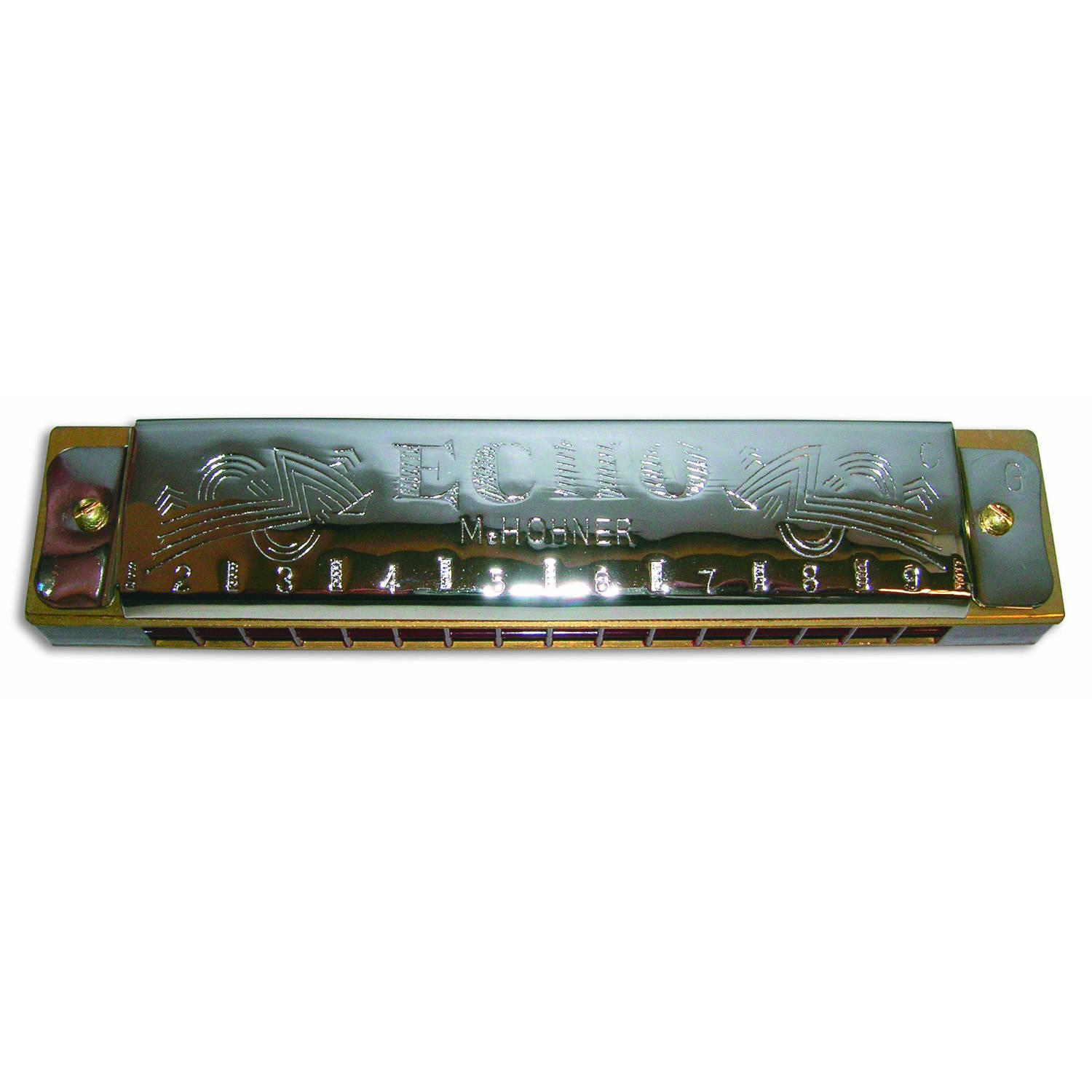 Hohner 8362 Echo Tremolo Harmonica, G by Hohner