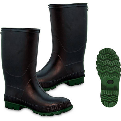 Wonderful Women39s Black Rain Boots Shoes  Walmartcom