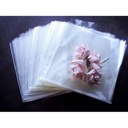 Small Cellophane Bags (1.5 ml Cello / Cellophane Bags - 6 x 6 Party/favors - Candle Gift Supplies -)