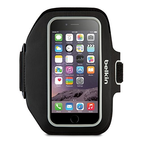 Belkin Sport-Fit Plus Armband for iPhone 6 Plus and iPhone 6s Plus - Blacktop