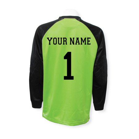 Soccer Goalkeeper Jersey Personalized on Back (contact us with your name, number)