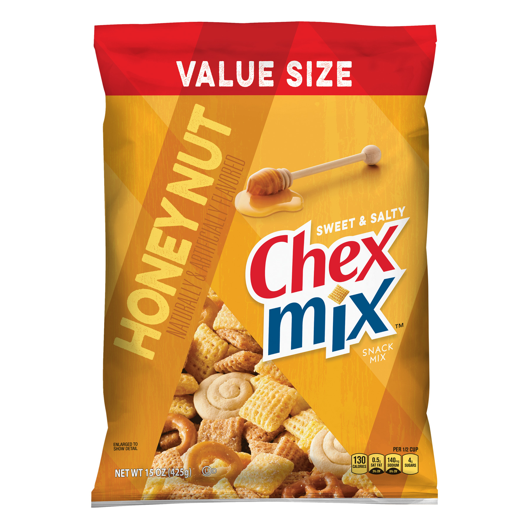 Chex Mix Sweet and Salty Honey Nut Snack Mix, 15 oz