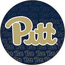 Pittsburgh Panthers NCAA Collegiate Trendy Verbiage Repeating Wordmark Text Fashion Pattern 4