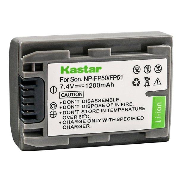 Kastar Battery For Sony Np Fp50 Np Fp51 And Sony Dvd Handycam Dcr Dvd105 Dvd Handycam Dcr Dvd202e Dvd Handycam Dcr Dvd92 Hard Disk Drive Dcr Sr100 Minidv Handycam Dcr Hc18e Camcorders Walmart Com Walmart Com