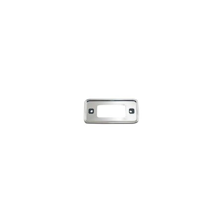MACs Auto Parts  51-48515 Side Marker Light Bezel - Chromed Plastic With Foam Backing- Front Or Rear - Right Or Left