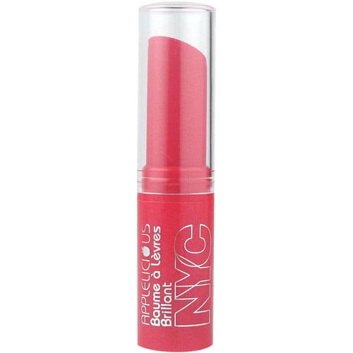 NYC New York Color Applelicious Glossy Lip Balm, Apple Plum Pie Glossy