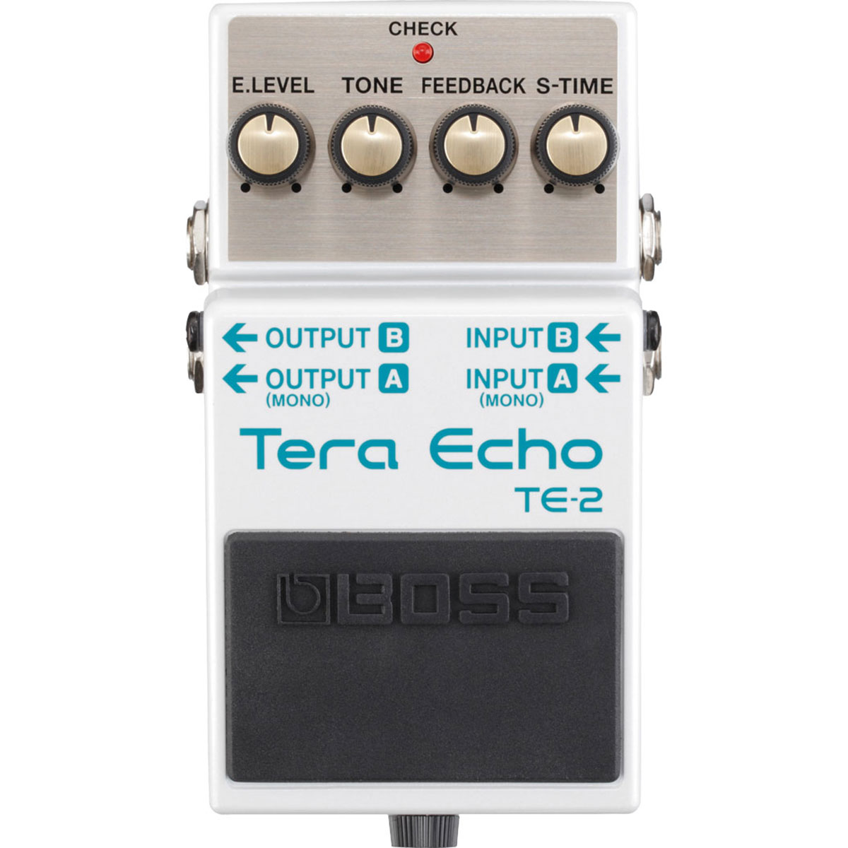 BOSS Audio TE-2 Tera Echo Compact Stompbox Guitar Ambience Effects Bass Pedal by Boss Audio