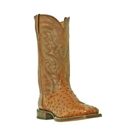 5a189657c18 Dan Post Western Boots Mens Chandler Full Quill Waxy Cognac DP2982