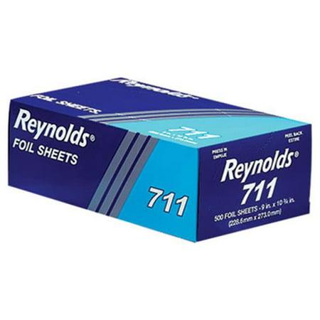 Rfp 711 Pop Up Inter Folded Aluminum Foil Sheets 9 X 10