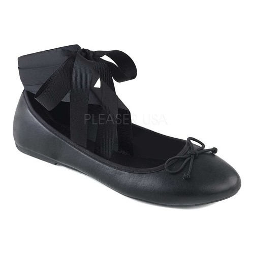 Women's Demonia Drac 03 Ballet Flat by PleaserUSA