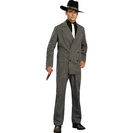 Adult's Classic Gangster Pin Stripe Zoot Suit -