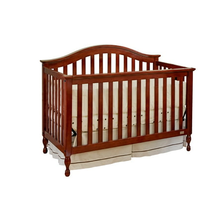 Lolly Amp Me Bailey 4 In 1 Convertible Crib Cherry