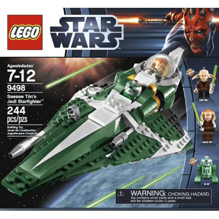 LEGO Star Wars Saesee Tiin's Jedi Starfighter Play (Lego Star Wars Plo Koons Jedi Starfighter)