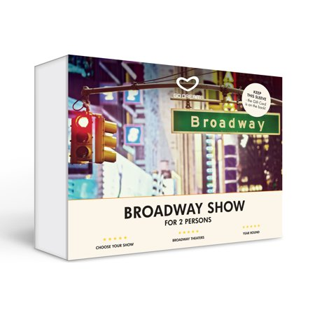 Broadway Show in New York, Experience Gift Box NYC - GO DREAM - Sent in a Gift Package Novelty Gift Boxes