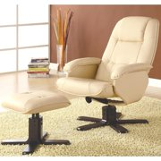 A Line Furniture Basana Swivel Recliner Ottoman Set