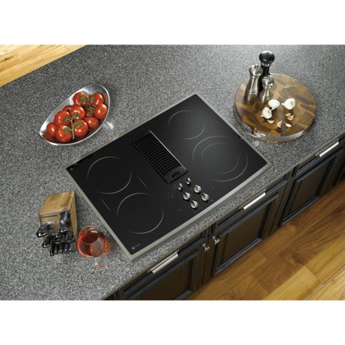 "GE PP989SNSS 30"" Smoothtop Electric Downdraft Cooktop wit..."