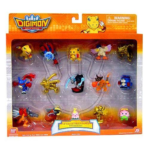 "Digimon Data Squad Digimon Collectible Exclusive 1 1 2"" PVC Figures by"