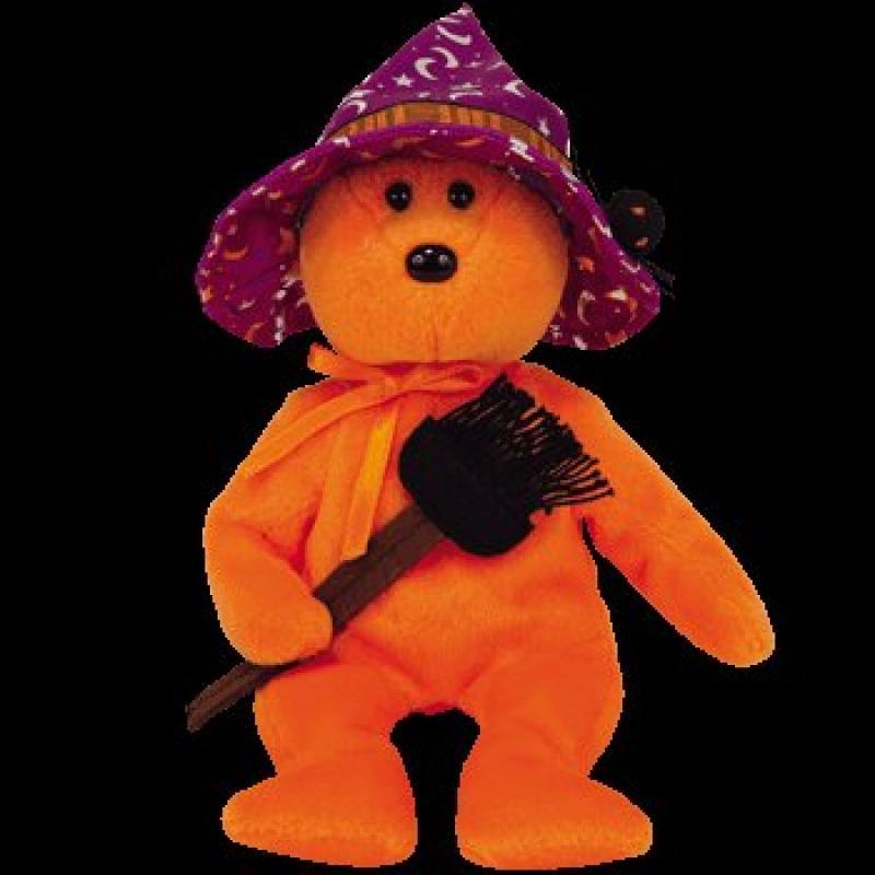 Ty Beanie Babies Prunella - Bear (Hallmark Gold Crown Exclusive)