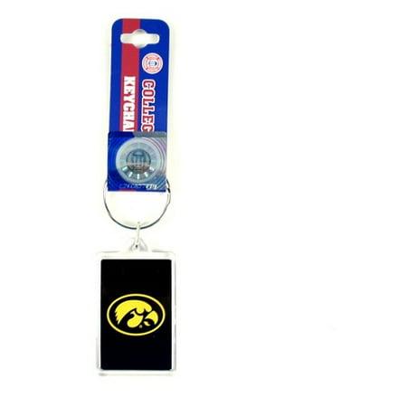 Iowa Hawkeyes NCAA Acrylic Key - Acrylic Key Tag
