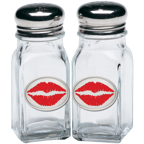 Red Lips Salt & Pepper Shakers