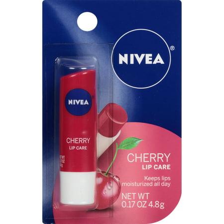NIVEA Cerise Lip Care 0,17 oz cardée Paquet