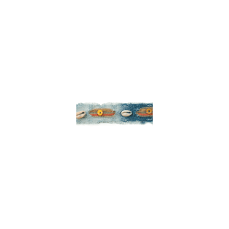 Expo Int'l Button and Shell Denim Trim Pack of 1 Yard